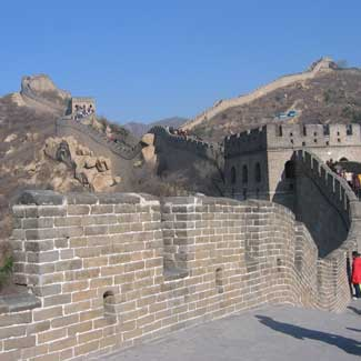great wall china used for example of strong building structure for real estate inspections houston